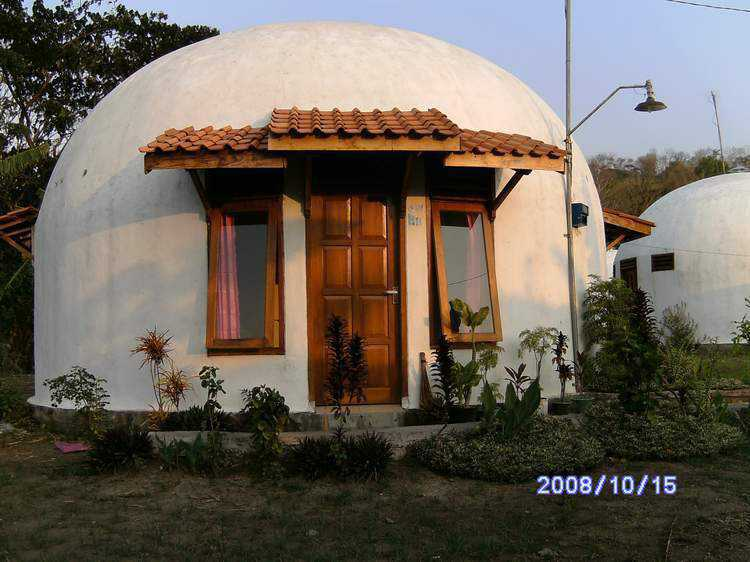 Start Of Our Ecoshell Dome Home Humanitarian Dream